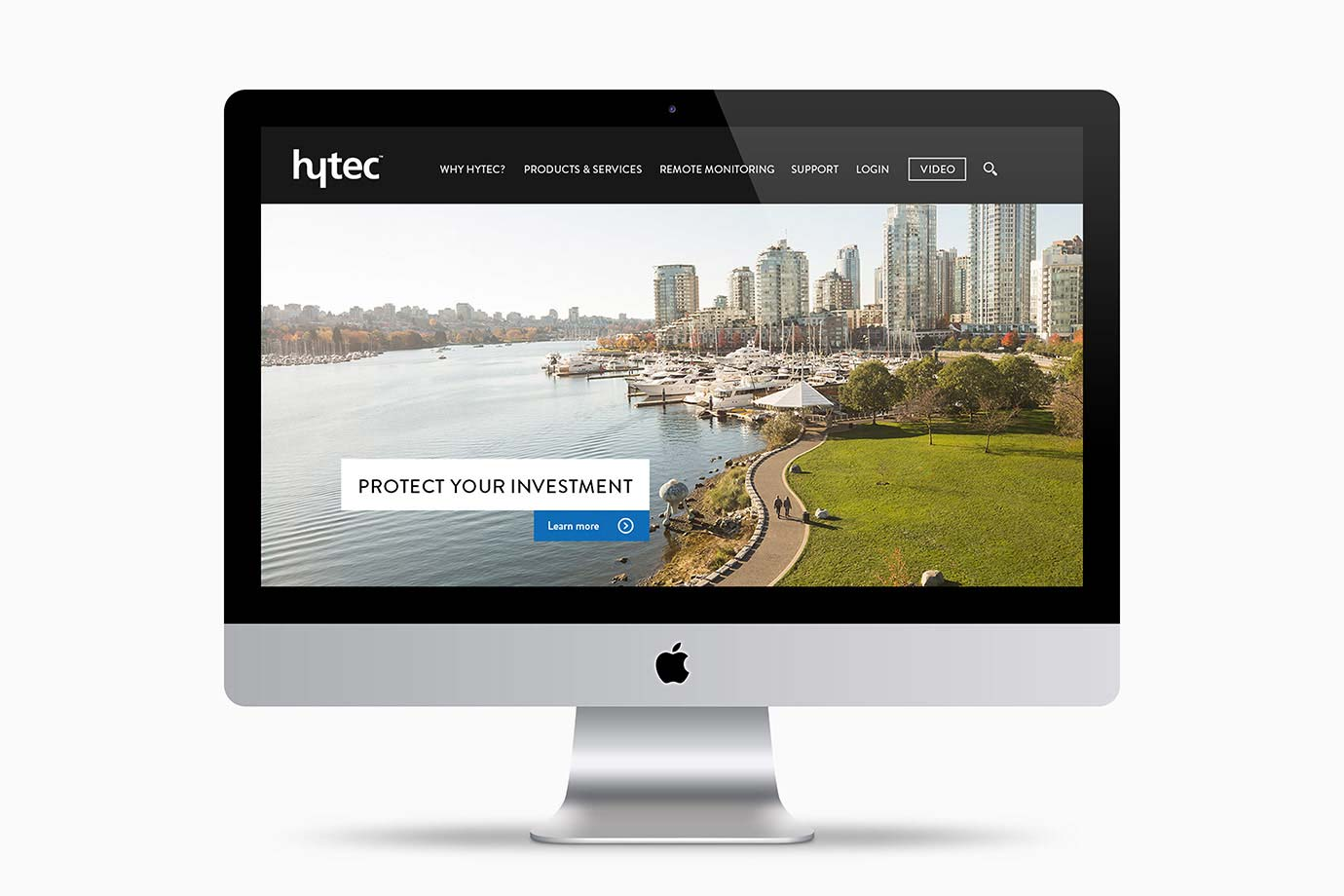 Anthony Hooper Graphic Design - Hytec Water Management Ltd. - Vancouver, BC