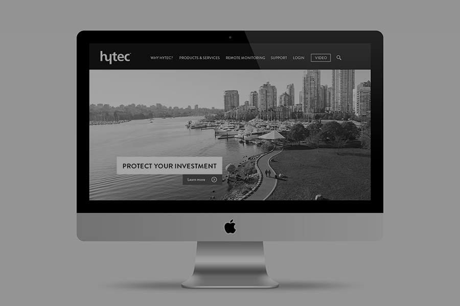 Anthony Hooper - Hytec Water Management, Logo Design, Branding, Web Design