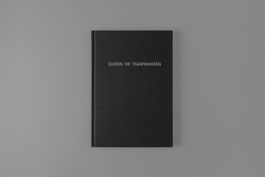 Anthony Hooper - Queen of Tsawwassen, Complete Publication Design
