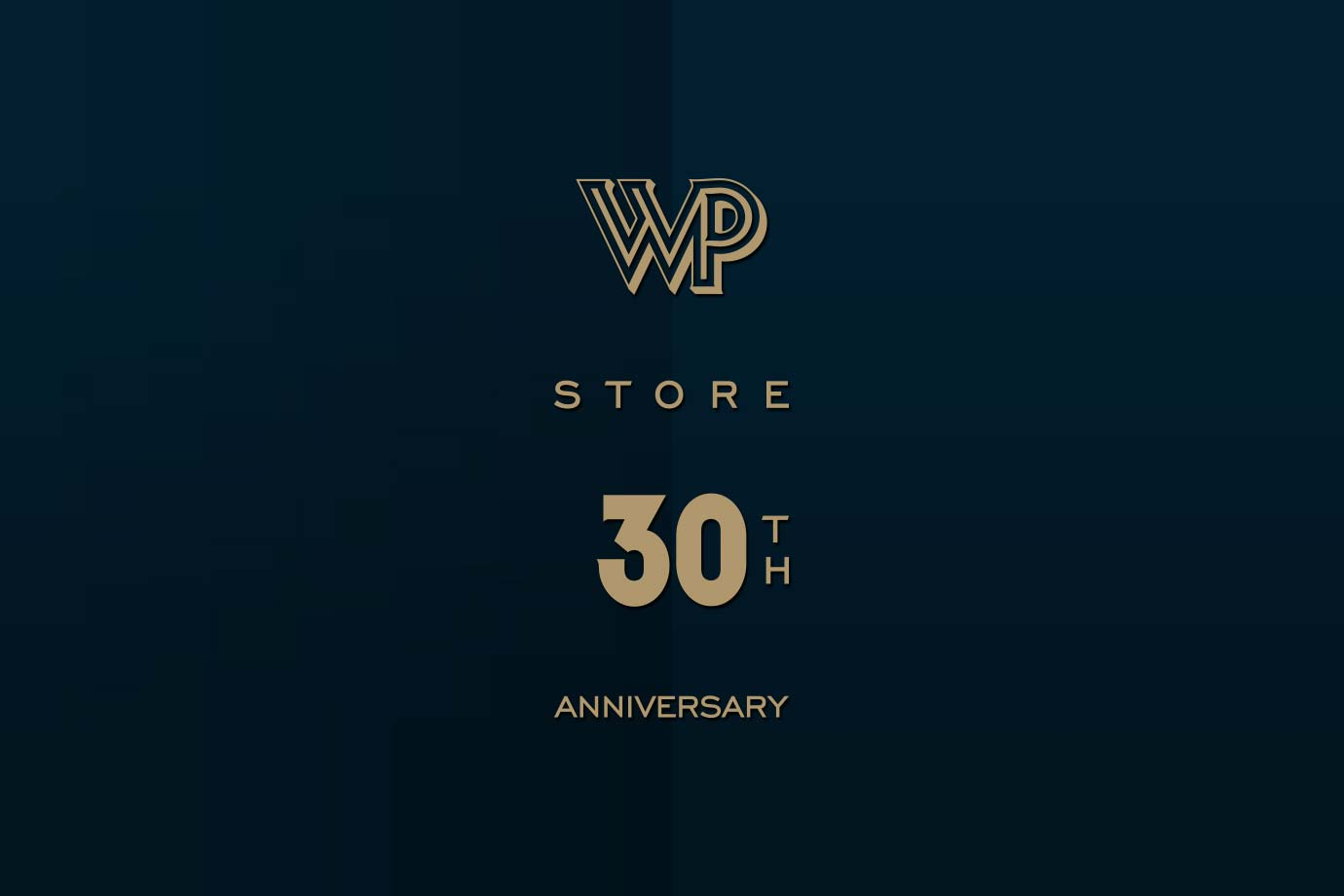Anthony Hooper Graphic Design - WP Lavori in Corso - WP Store 30th Anniversary