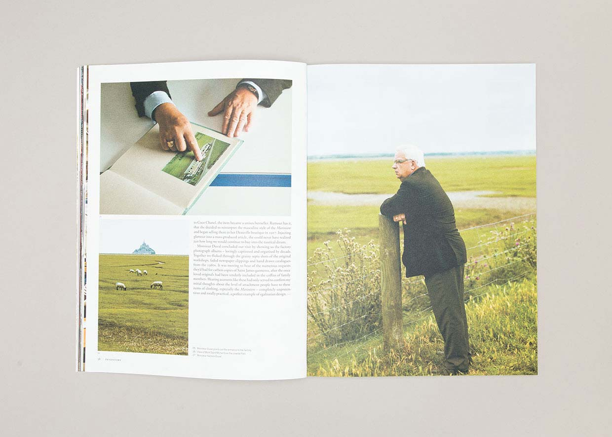 Anthony Hooper Graphic Design - Inventory Magazine - Issue 05: Fall-Winter '11