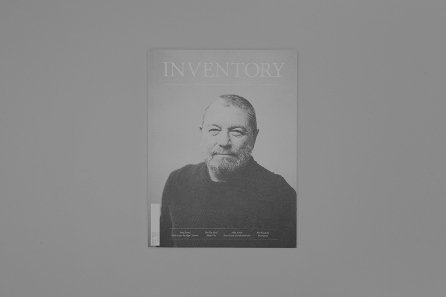 Anthony Hooper - Inventory Magazine – Issue 05, Complete Publication Design