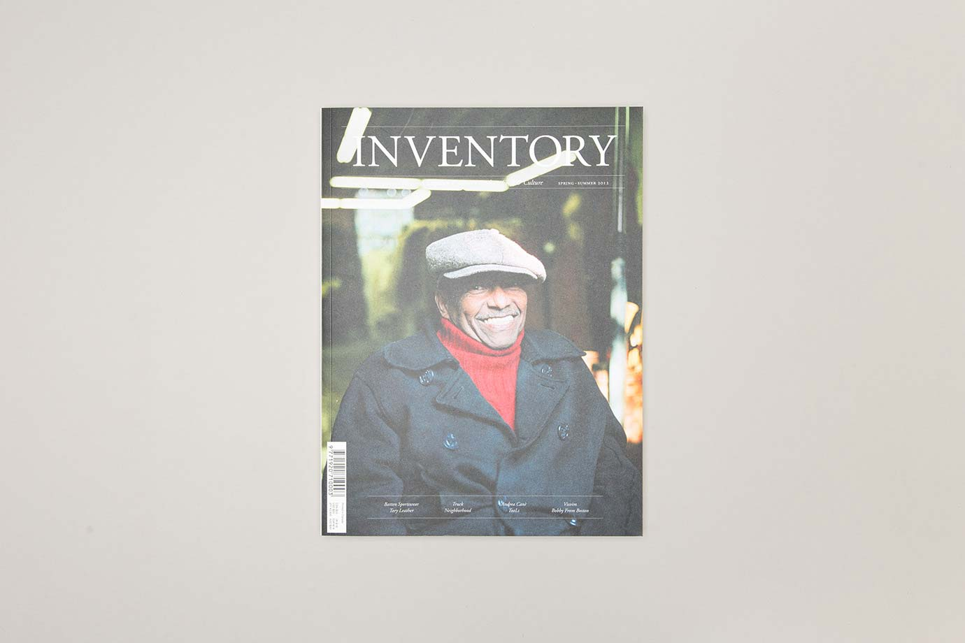Anthony Hooper Graphic Design - Inventory Magazine - Issue 06: Spring-Summer '12