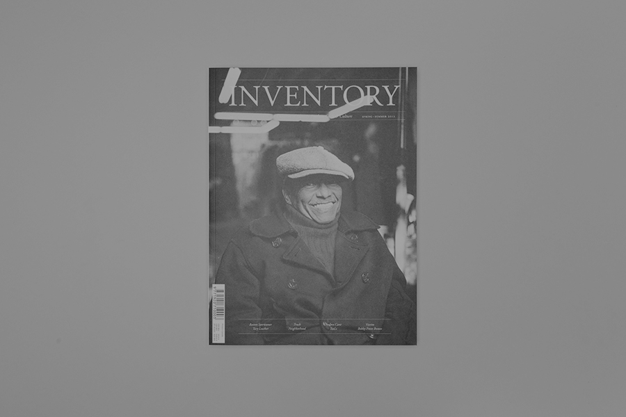 Anthony Hooper - Inventory Magazine – Issue 06, Complete Publication Design