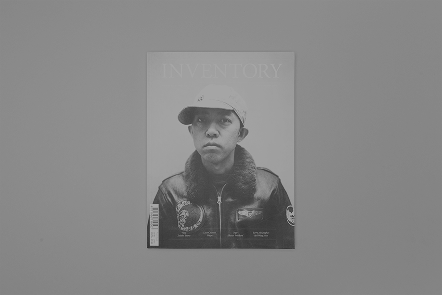 Anthony Hooper - Inventory Magazine – Issue 07, Complete Publication Design