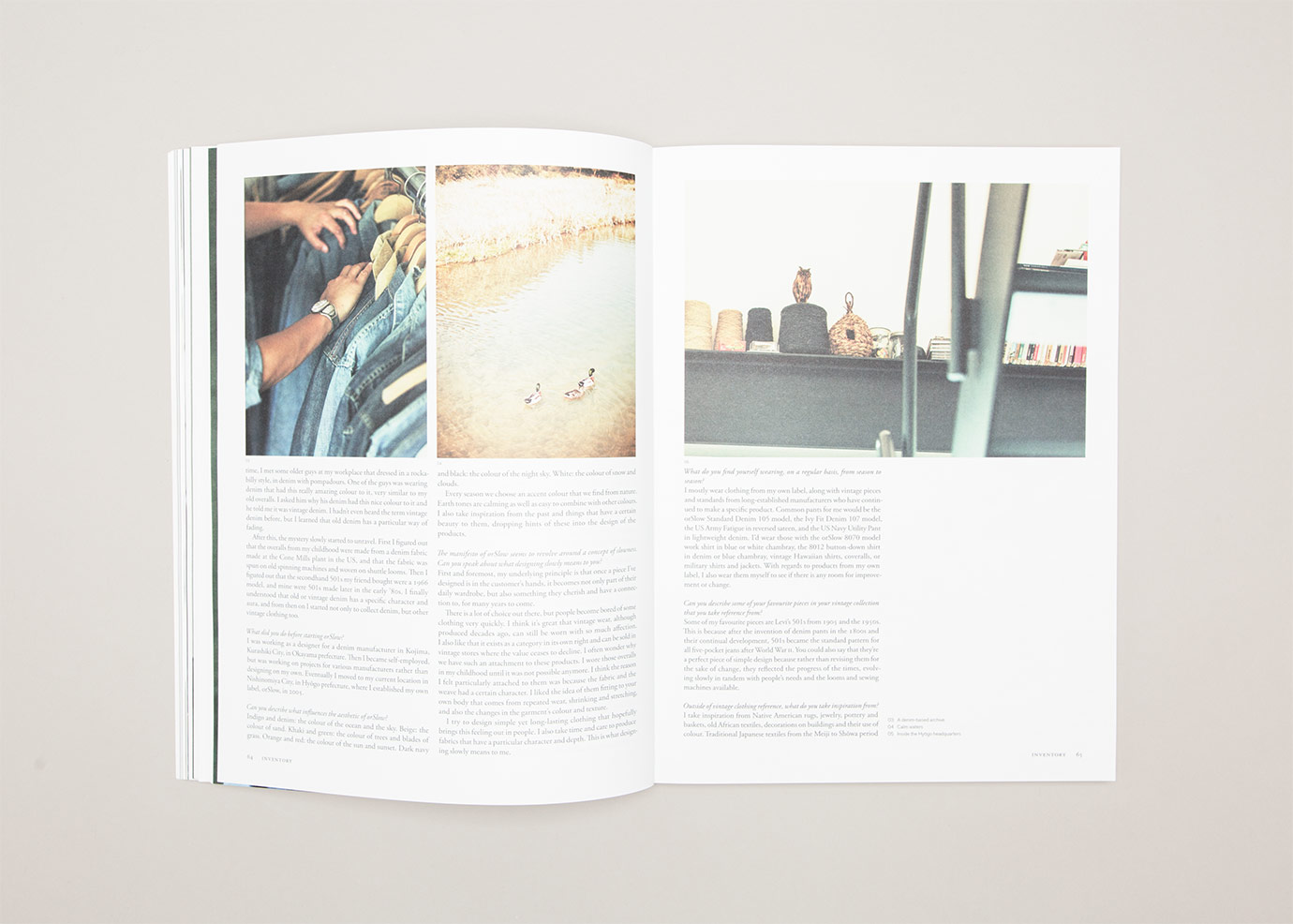Anthony Hooper Graphic Design - Inventory Magazine - Issue 10: Spring-Summer '14