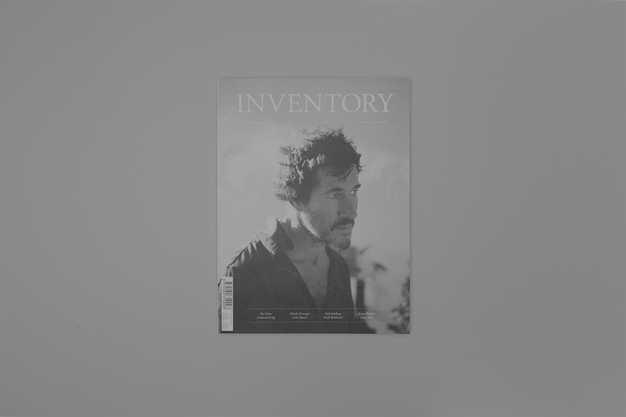 Anthony Hooper - Inventory Magazine – Issue 08, Complete Publication Design