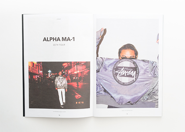 Anthony Hooper Graphic Design - Stüssy Biannual - Volume 06